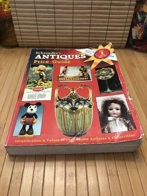 Schroeder's Antiques Price Guide 16th Edition 1998 SC Book Research Price Guide