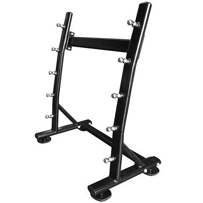 Fxr Sports Hex Barbell Bar Storage Rack Stand Holds 5 Barbells Bars Rack