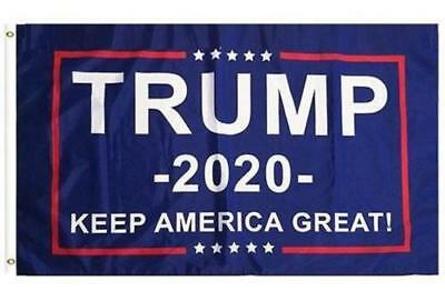 Donald Trump FLAG 3x5 3ft by 5ft FREE SHIPPING MAGA 2020 KEEP AMERICA GREAT