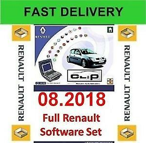 Renault CAN Clip v.180 Diagnostic Software Year/Release Date: 2018Version: 180