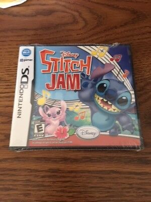 Shrink Wrap Sealed Disney Stitch Jam DS NTSC U/C Free Shipping