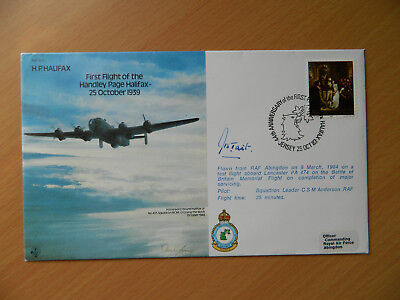 FDC RAF Bomber Command Museum Appeal Series of veteran Signed First Day Covers