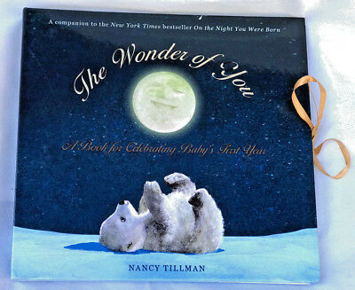 NEW The Wonder of You Celebrating Baby's First Year Unisex Baby Book Tillman