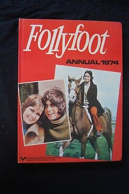FOLLYFOOT Annual 1974 HB Yorkshire Television Series Photographs Horse Pony Rare