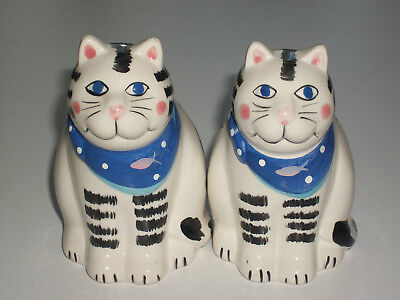 Coco Dowling Cat SALT PEPPER shakers