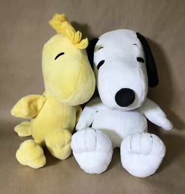 """Kohl's Cares Snoopy and Woodstock 15"""" Plush Lot"""