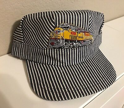 Engineer/Conductor Cap /Hat-UP Union Pacific Engine-adjustable-Adult or Child