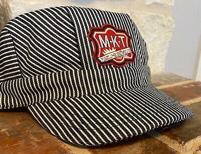 Engineer/Conductor Cap /Hat-MKT Katy RR- adjustable-Adult or Child-NEW