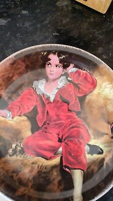the red boy plate by woods and sons