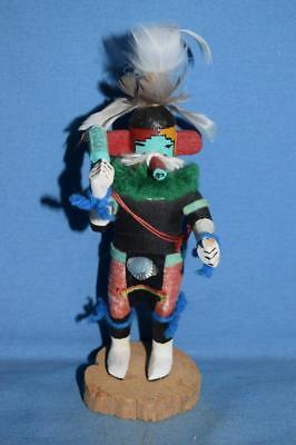Native American Kachina Spotted Corn By R. Long 'as Is' (T85)