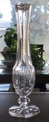 Waterford Crystal, Giftware, 9 1/4 inch Bud Vase, Excellent Condition