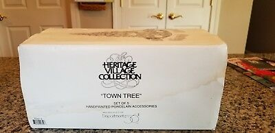 """Dept 56 Heritage Village Collection """"Town Tree""""  #56654"""