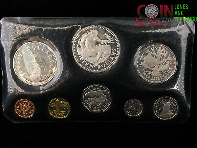 1973 Barbados First National Coinage Collection 8-Coin Set #5371