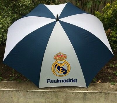 Large Real Madrid Golf umbrella - navy and white - New With Tags