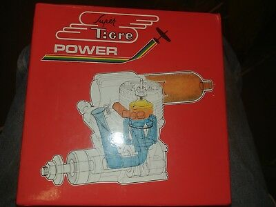 Super Tigre Engine G 90 ring with muffler vintage made in Italy NEW IN BOX