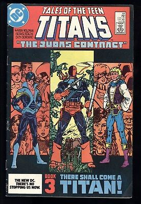 Tales Of The Teen Titans (1980) #44 1st Print Deathstroke 1st App Nightwing VG