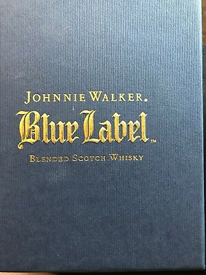 Johnny Walker Blue Label Whisky Glass NEW IN BOX