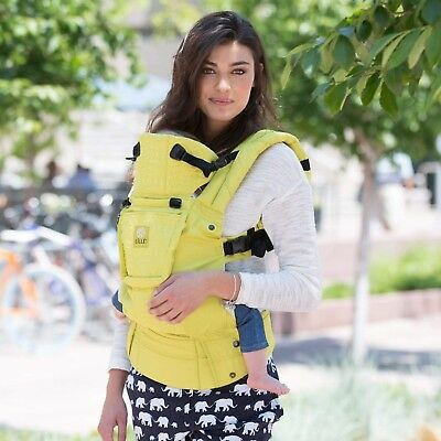 Lille Baby Complete Embossed baby carrier Citrus color - NEW