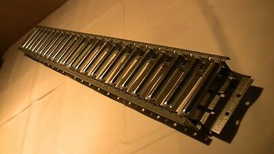Carton Flow Track Span-Track Unex Rollers Gravity Flow