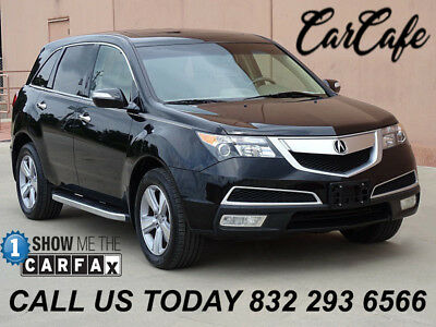 2012 Acura MDX SH w/ Tech Package 12 ACURA MDX AWD SH AWD W/ TECH PACKAGE! ONE OWNER! ACCIDENT FREE!