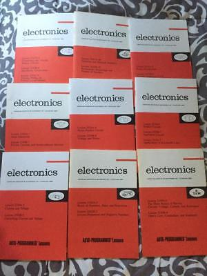 37 cleveland institute of electronics auto programmed lessons books lot of 9 cleveland institute of electronics course study books fandeluxe Gallery