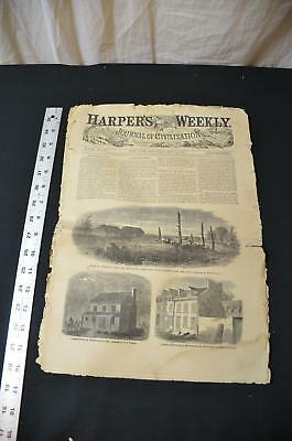 Abraham Lincoln Assassination Harper's Weekly May 20 1865 #1422