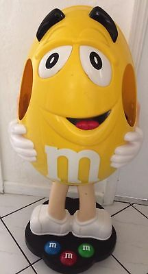 Giant Store Display Character Figure on Wheels RARE Yellow Peanut M & M #207821