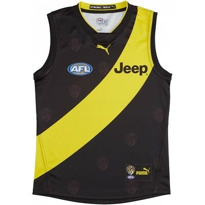 NEW Official 2018 Richmond Tigers Puma Mens Home Guernsey (Small - 6X-Large)