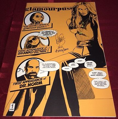 Glamourpuss #1 VF/NM! Dave Sim Signed & Numbered Variant of 300! 2001