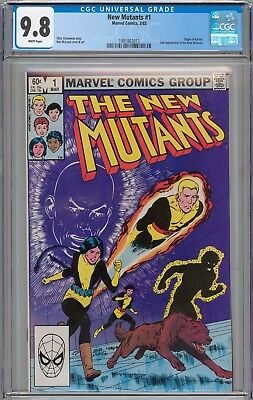 New Mutants #1 CGC 9.8 NM/MT 1st Appearance of Karma WHITE PAGES