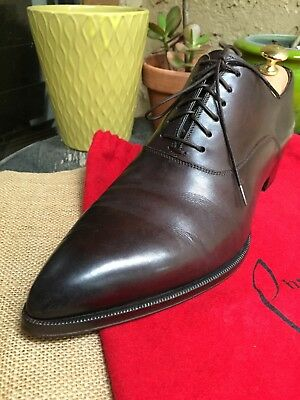 new product c579b 64f11 AUTH CHRISTIAN LOUBOUTIN Mens Shoes Platters Flat Us Size 10 Made In Italy