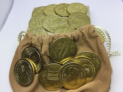 Mcdonalds Big Mac 50th Anniversary  Collectable Coin Lot (19)