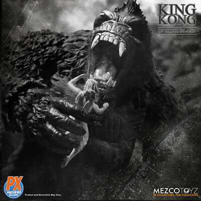"""Mezco Toyz MAY189235 King Kong of Skull Island PX Previews Exclusive 7"""" Toys New"""