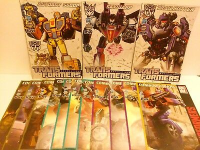 15 Transformers IDW Combiner Wars Generations Exclusive Figure Comic Ships Free