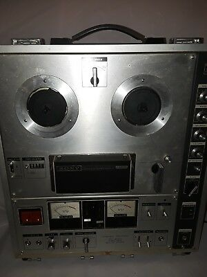 Sony Stereo Tapecorder TC 630 Threehead Reel To Reel Repair Or Parts