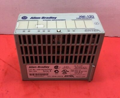 Allen Bradley 1440-VST02-01RA XM120 Ser. B Rev.D02 Dynamic Measurement Module 3A