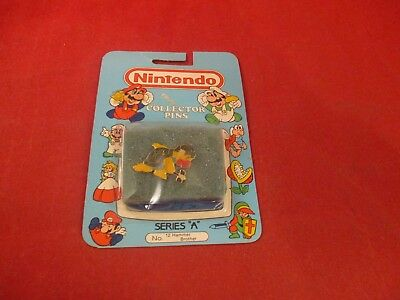 "Nintendo Collector Pins Series ""A"" Super Mario Bros. Hammer Brother NES Era NEW!"