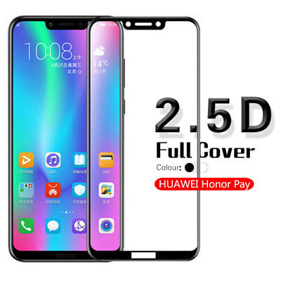 2.5D Edge Full Cover Screen Protector Tempered Glass Film For Huawei Honor Play