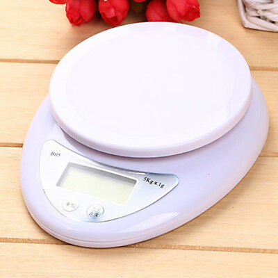 5kg/1g Digital Electronic Kitchen Food Diet Postal Scale Weight Balance P1U9J