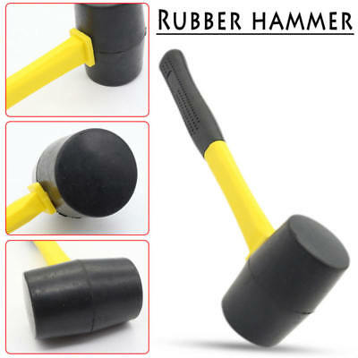 Durable Rubber Hammer Double Face Non Slip Handle Tiling Mallet