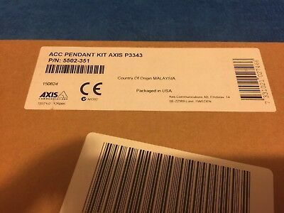 Axis 5502-351 ACC Camera Pendant Kit for P3343