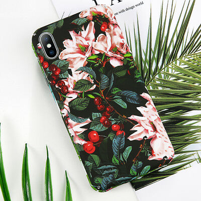 iPhoneX 8 7 6s 5E Ultra Thin Pattern Shockproof Case Cover Hard Back For Apple
