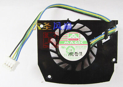 1pcs cooling fan for MBT4412HF-W09 4-wire temperature control plug 12V 0.24A