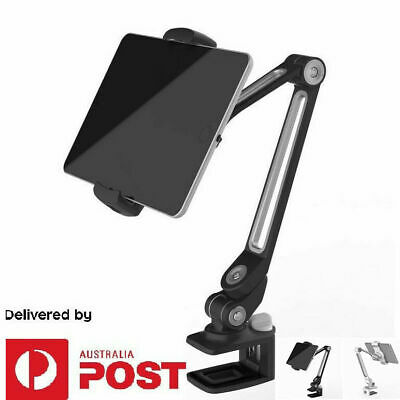 Tablet Holder For iPad 1 2 3 4 Mini Clamp with Adjustable Arm Desk Bed Mount