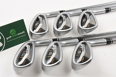 Wilson Staff Fg Tour F5 Irons / 5-Pw / Stiff Flex Steel Shafts / Wiifgt044