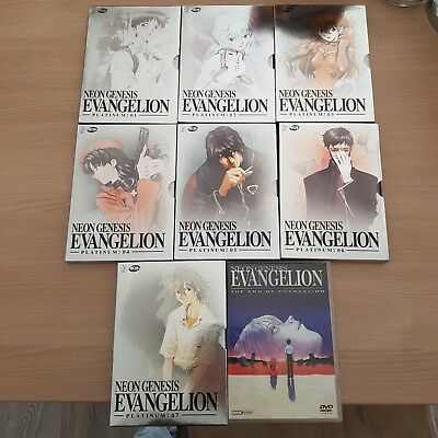 Neon Genesis Evangelion Platinum Version Vol. 1-7 + Finalfilm