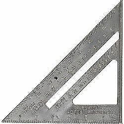 SupaTool Aluminium Metal Wood Working Building Joiners Angle Roof Guide Square