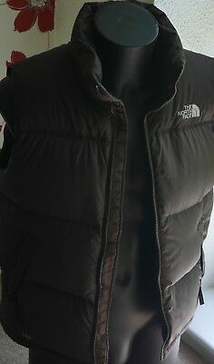 low cost the north face gilet bodywarmer 700 down fill brownsize s rrp  2636c 55999 d8e2ab680