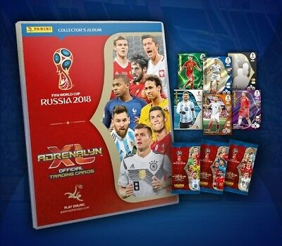 Adrenalyn World Cup Russia 2018: Choose Your Card (Rising, Dt, Game Changers...)