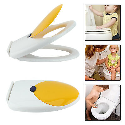Toilet Seat for Toddlers Training ; Soft Close Kids Family Child Potty ; White